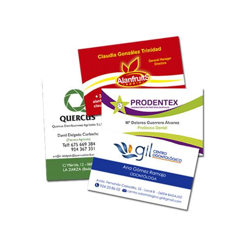 Tarjetas de visita personalizadas Publiguindas.es