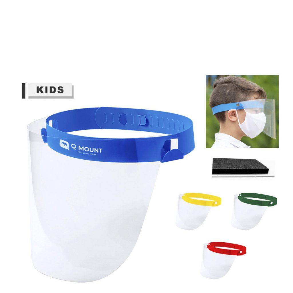 Pantalla facial niño protección COVID 19 | Publiguinda.es